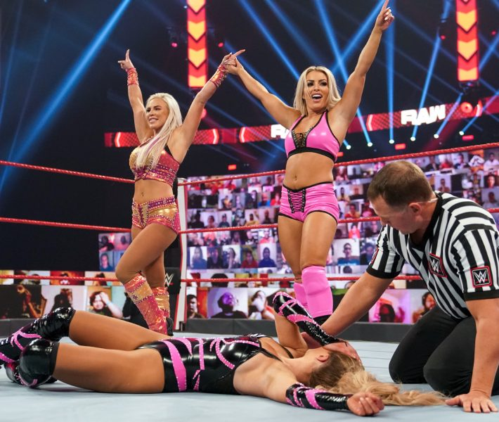 Monday Night RAW:Results:September 28th,2020